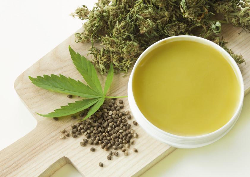 CBD Oil infused Hemp tea